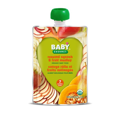 Baby Gourmet Roasted Squash and Fruit Medley Baby Food Case