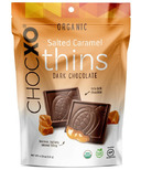 ChocXO Dark Chocolate & Salted Caramel Thins