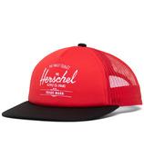 Herschel Supply Whaler Mesh Kids Fiery Red/Black/White Reflective