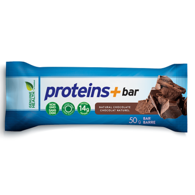 Genuine Health Proteins+ Express Protein Bars Natural Chocolate