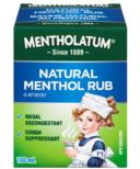 Mentholatum Natural Menthol Rub Ointment