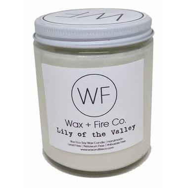 Wax + Fire Co. Soy Candle