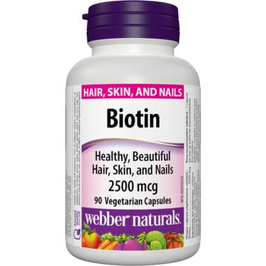 Webber Naturals Biotin 2500 mcg