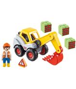 Playmobil 1.2.3. pelle excavatrice