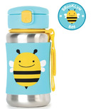 Skip Hop ZOO Stainless Steel Straw Bottle Bee