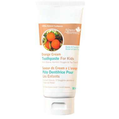 Newco Orange Cream Natural Toothpaste
