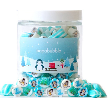 papabubble Handcrafted Candies Winter Jar