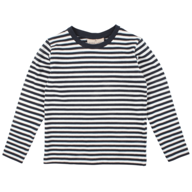 Nordic Label Long Sleeve Stripped Top Total Eclipse