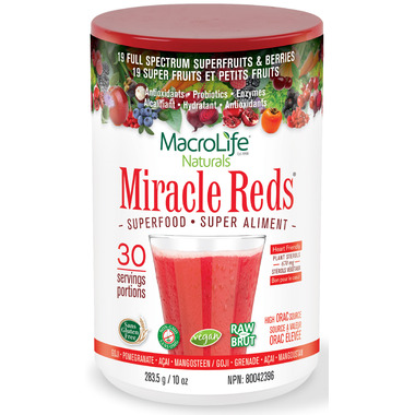 MacroLife Naturals Miracle Reds Cardio Antioxidant Superfood