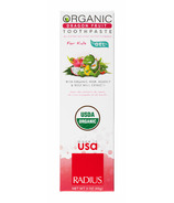 Radius USDA Organic Dragon Fruit Kids Gel Toothpaste