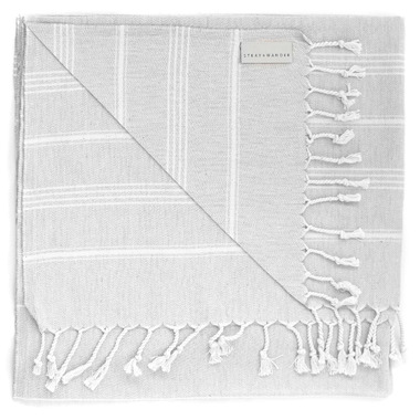 Stray & Wander Cove Turkish Towel Grey