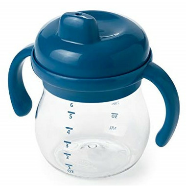 OXO Tot Transitions Sippy Cup with Handles Navy
