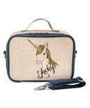 SoYoung Raw Linen Lucky Unicorn Lunch Box
