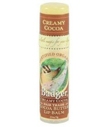 Badger Cocoa Butter Lip Balm Stick Creamy Cocoa