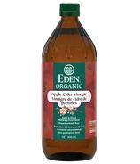 Vinaigre de cidre de pomme biologique d'Eden