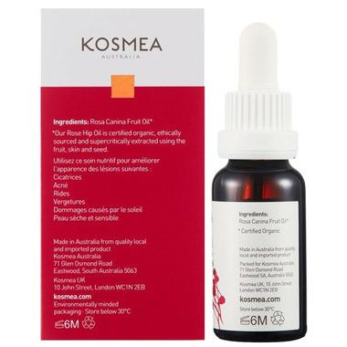 Kosmea Certified Organic Rose Hip Oil