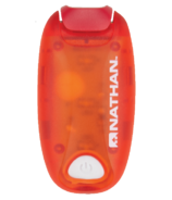 Nathan Sports StrobeLight LED Clip Tango Red