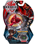 Bakugan Pyrus Serpenteze Collectible Action Figure and Trading Card