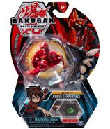Bakugan Pyrus Serpenteze Collectible Action Figure and Trading Card