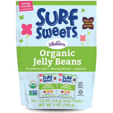 Surf Sweets Organic Jelly Beans Treat Packs