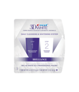 Crest 3D White Brilliance 2 Step Toothpaste