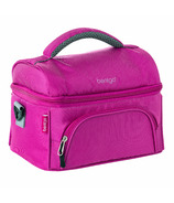 Bentgo Deluxe Insulated 2-Compartment Lunch Tote Purple
