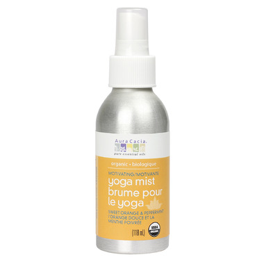 Aura Cacia Organic Motivating Yoga Mist