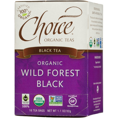 Choice Organic Teas Wild Forest Black Tea