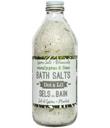 Dot & Lil Eucalyptus & Lime Bath Salt