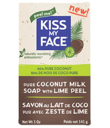 Kiss My Face Coconut Milk Bar Soap with Lime Peel