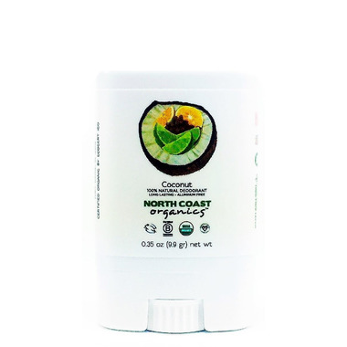 North Coast Organics Coconut Organic Deodorant Travel Size