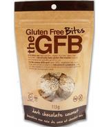 The GFB Gluten Free Bites Dark Chocolate Coconut