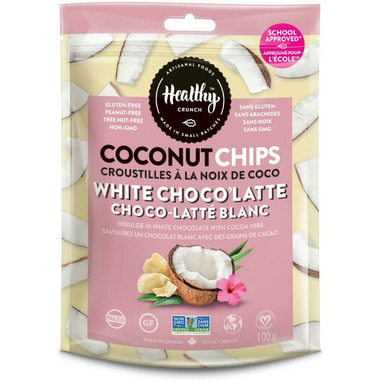Healthy Crunch White Choco\'Latte Coconut Chips