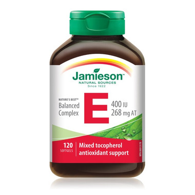 Jamieson Nature\'s Best Balanced Complex Vitamin E