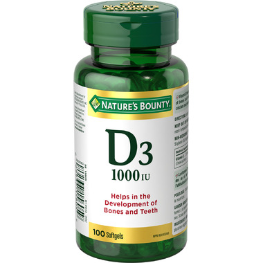 Nature\'s Bounty Vitamin D3