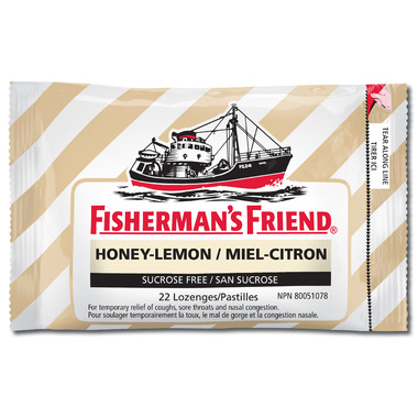 Fisherman\'s Friend Honey-Lemon Lozenges