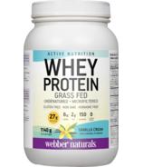 Webber Naturals Active Nutrition Whey Protein Vanilla Cream