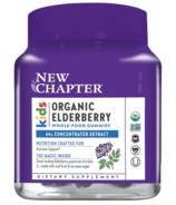 New Chapter Organic Elderberry Gummies Kids