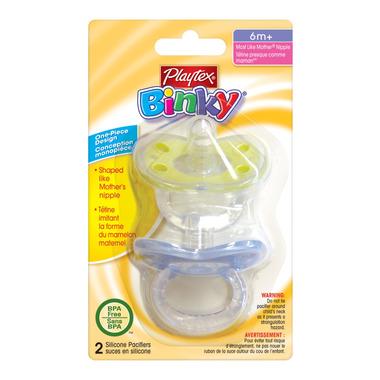 Playtex Binky Pacifiers