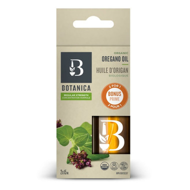 Botanica Regular Strength Oregano Oil Bonus Pack