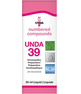 UNDA Numbered Compounds UNDA 39 Homeopathic Preparation