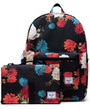Herschel Supply Settlement Sprout Backpack Vintage Floral Black