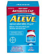 Aleve 220 mg Arthritis Cap Small Bottle
