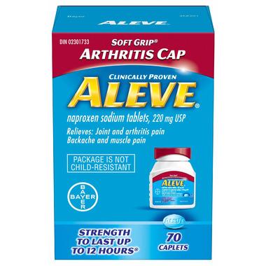 Aleve 220 mg Arthritis Cap Small Bottle