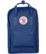Fjallraven Kanken Laptop 15 Inch Backpack Deep Blue