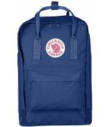 Fjallraven Kanken Laptop 15 Inch Backpack Deep Blue