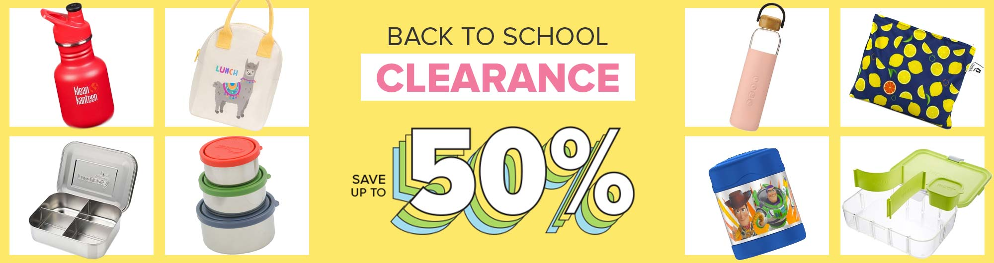Save up to 50% off Back to School Clearance