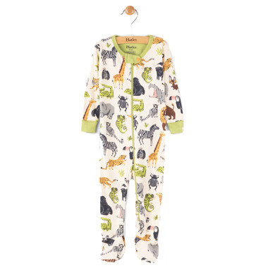 Hatley Footed Coverall Safari Adventure