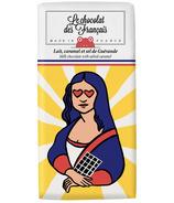 Le Chocolat des Francais Milk Chocolate & Salted Caramel Mona Lisa