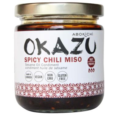 Abokichi OKAZU Spicy Chili Miso